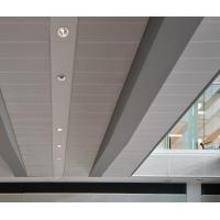 Buy cheap Decorative Perforated  Lay In Ceiling Panels , Waterproof Ceiling Tiles  300x1200mm from Wholesalers