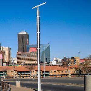 Buy cheap LiFePO4 Battery Integrated Solar Led Street Light , Led Street Lamp Post Mono PV from wholesalers