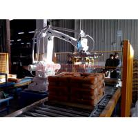 China High Strength Automatic Stacking Machine , Fast Packing Robotic Bag Palletizer factory