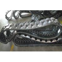 China Exquisite Track Loader Rubber Tracks 2448mm Perimeter For Infrastructure factory