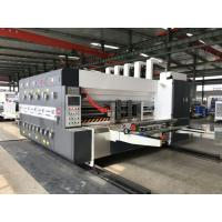 Buy cheap High Quality Automatic 4 Color Flexo Printer Slotter Machine For Corrugated Box, China YIKE Carton Machine from wholesalers