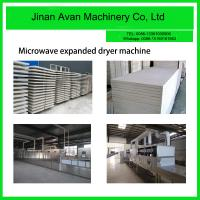 China Microwave oven machine for drying expanded perlite board on sale