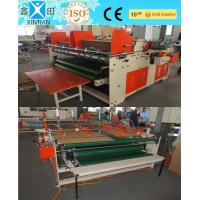 Buy cheap Small Paperboard Carton Folder Gluer Strong Adhesive Gluing 1500x1100mm from Wholesalers
