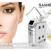 Quality Sanhe ce 2 years warranty 1064 nm 532nm nd yaglaser / q-switched nd: yag laser for tatto for sale