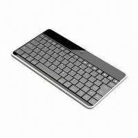 Buy cheap Bluetooth Keyboard for iPad/iPhone, with 84 Keys, 17 Pad Hot Keys, Measures 242 x 126.5 x 7mm from Wholesalers