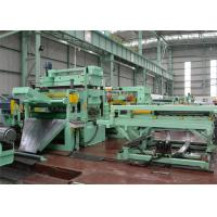 Buy cheap 0-60m/Min Rotary Shear Cut To Length Line Double Support Uncoiler Hydraulic Pressing from Wholesalers