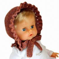 China Hand Crochet Knitted Hat for Children, Animal Hat, Christmas Hats, OEM Orders are Welcome factory