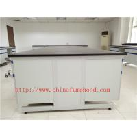 China 3000 mm White Anti Strongest Corrosion / Acid / Alkali Wood Lab Benches Furniture for University / College Laboratory on sale