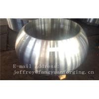 China Spherical Size Rough Turned Valve Forging ASTM A105 F304 F316 F51 F53 F60 factory