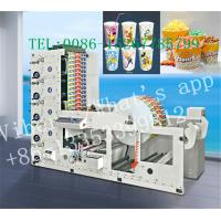 Buy cheap Plastic Film Lable 6 Color Flexo Printing Machine With Un Winder System from Wholesalers