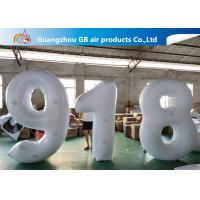 China Outdoor Advertising Inflatable Letters And Number Airtight For Sale factory
