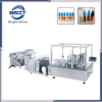 Buy cheap E-Liquids E-Liquid Filling Plugging & Capping Liquid Bottle Packing Machine from Wholesalers