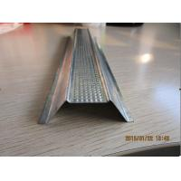 Buy cheap Heat Treated Galvanized Steel Strip Cold Roll Forming Equipment 440V Metal Omega from Wholesalers