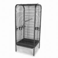 China Pet Cage with Pb-free/UV-resistant Powder Coating and Removable Front Door factory