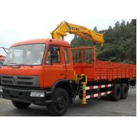 China Durable XCMG 10 ton Knuckle Boom Truck Mounted Crane For Lifting Heavy Things factory