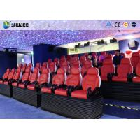 China Deft Novel Motion 5D Theater Equipment With 12 Special Effects CE ISO9001 factory