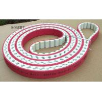 Buy cheap Adjustable Length Polyurethane Timing Drive Belts 50mm - 100mm Width Red Color from Wholesalers