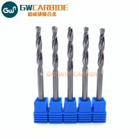 Buy cheap Polishing Solid Carbide Drill With Double Coolant For Aluminum from Wholesalers