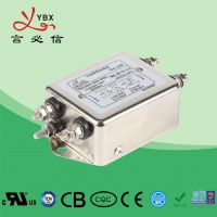 China 10A,120V 250V single-phase two-stage enhanced Electrical Noise Filter , Medical AC Power Line Noise Filter factory
