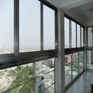China Durable Horizontal Aluminium Sliding Windows Sound Insulation Waterproof factory