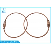China Aircraft Cable Key Ring factory