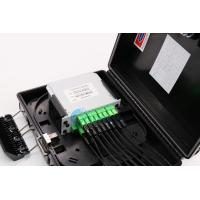 China Black Color Fiber Optic Termination Box PC ABS Material For LGX Splitter on sale
