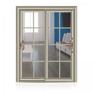 China Customized Aluminium Frame Glass Door Waterproof For Top Grade Village House factory