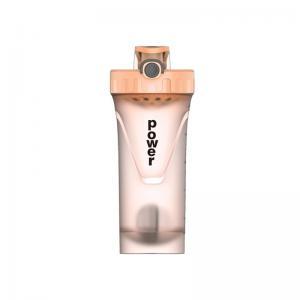 China 0.65L Pop Lid Plastic Shaker Bottle For Outdoor Activities factory
