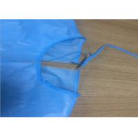 China PP PE Coated Non Woven Isolation Gown Garment AAMI Level 2 FDA Certification factory