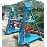 Buy cheap Adjustable Height Tower Erection Tools Hydraulic Reel Jack 500kn Rated Load from wholesalers