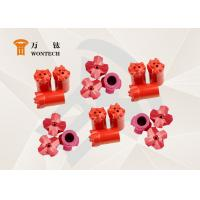 China Different Hard Rock Drill Bits , Bench Drilling Rig Bits Fully Carburization factory