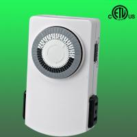 Buy cheap 24hours mechanical timer with 2 outlets from wholesalers