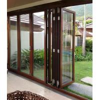 China Anti Rusting Aluminum Frame Glass Door Waterproof With ISO9001 Certification factory