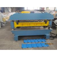 Buy cheap 1000mm width Double Layer Roll Forming Machine with Automatic Hydraulic Cutting from Wholesalers