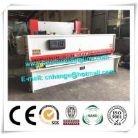 China 10x3200 NC Hydraulic Shearing Machine Swing Type Electric Controller System factory