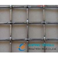 China Lock Crimped Wire Mesh/Screen for Sieve, Vibration, Buildings factory