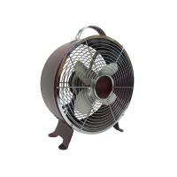 Buy cheap Retro Metal Electric Table Fan With Full Copper Motor 90 Degree Oscillation 2 Speed from Wholesalers