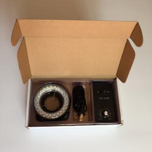 China YK-L48T stereo microscope led ring light control box inner diameter 60mm microscope lighting factory
