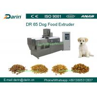 Buy cheap DR65 Automatic Stainless Steel  Dog Food Extruing Machine / Dry Pet Food Processing Line from Wholesalers