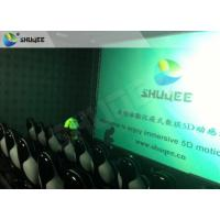 China Surreal Vision 9D Movie Theater Electric Motion System Immersive Experience For Audiences factory
