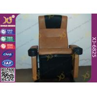 China Cold Molded PU Sponge Movie Theaters Chairs PP Shell For 3 D Cinemas on sale