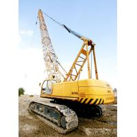 China Durable Knuckle Lattice Boom QUY80 Hydraulic Crawler Crane Safe And Heavy factory