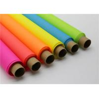 China Neon Colour Wax Paper For Flower Wrapping factory