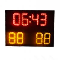 China Small Ultrathin Full Color Electronic Soccer Scoreboard With Wireless Control factory