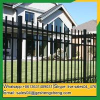 Buy cheap Laverton Cheap wrought iron fence panels front yard Fence panels square tube fencing from Wholesalers