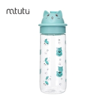 China Mtutu Easy Carry 500ml Leak Proof Childrens Water Bottle factory