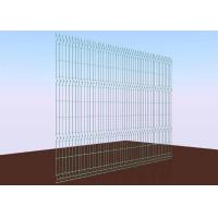 China Wall Galvanized Wire Mesh Fence Panels High Strengthen 55MM X 100MM on sale