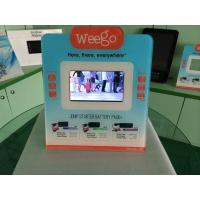 Buy cheap 7 Inch Calender / Clock UV Printed POS Advertising Display With Video Auto Play from Wholesalers