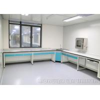 Buy cheap H frame Suspended System Dental Laboratory Bench / Dental Lab Working Table from Wholesalers