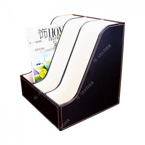 China Flat Leather Document 32cm Office Stationery Holder factory